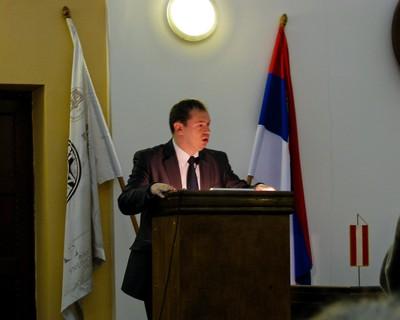 Milos Simonovic, Major of City of Nis