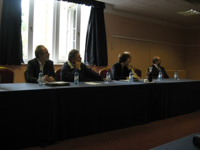 Rectors of University of Novi Sad and University of Nis