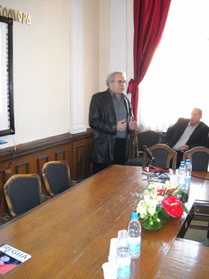mr Srba Draganovic, Atlas Electronics, Serbia