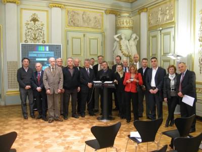 KNOWTS participants in Vienna, Palais Esterhazy