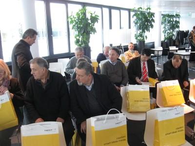 Serbian delegation in Kapsch Company