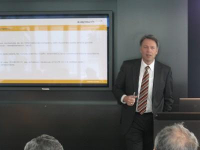 Presentation in Kapsch Company