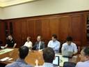 Meeting in Deans office, School of Electrical Engineering