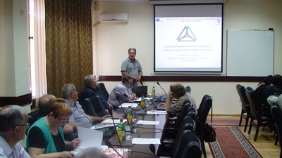 Prof. Tokic presented National platform at State University of Novi Pazar