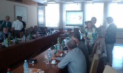 Presentation of National Platform at NCHE